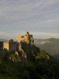 Scenic View of the Aggstein Ruin Photographic Print by  Keenpress