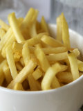 Amsterdam, Holland, Europe- Close-up of French Fries Photographic Print by Keenpress