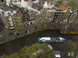Netherlands, Amsterdam, Prinsengracht Canal Photographic Print by  Keenpress