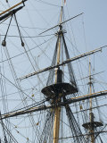 Rigging on Board the HMS Victory, Admiral Nelson's Flagship Photographic Print by  Keenpress
