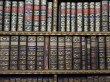 Close-up of Books Inside the Melk Benedictine Abbey Library Photographic Print by  Keenpress