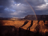 Rainbow Arches over the Grand Canyon Photographic Print by Michael Nichols
