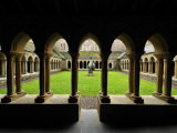 Courtyards at a Christian Seminary in Iona Photographic Print by Jim Richardson