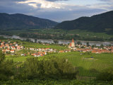 Scenic View of Weissenkirchen, Famous for Wine Growing Estates Photographic Print by  Keenpress