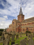 St. Magnus Cathedral in Kirkwall, Orkney Islands Photographic Print by Jim Richardson