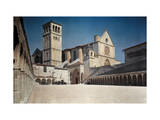 View of the Franciscan Monastery, St. Francis, and its Church Photographic Print by Hans Hildenbrand