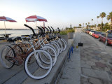 Line of Rental Bicycles at Merry Pier on Pass-A-Grille Beach Photographic Print by Scott Sroka