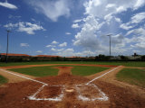 Baseball Field Photographic Print by Raul Touzon