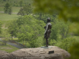 Statue of General Warren Representing July 2Nd, 1863 at Gettysburg Photographic Print by Greg Dale