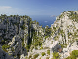 Calanque D'En Vau Cliffs Near Cassis Photographic Print by Michael Melford