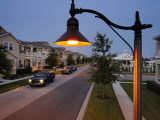 Harmony Uses Street Lights with Cutoff Fixtures So Light Remains Low Photographic Print by Jim Richardson