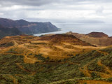 De-Forested Coastal Mountains in New Caledonia Photographic Print by Mattias Klum