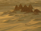 Burial Pyramids at Gebel Barkal Photographic Print by Kenneth Garrett