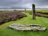 Ring of Brodgar, a Neolithic Stone Circle Fotografiskt tryck av Jim Richardson