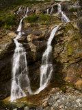 Waterfalls Cascading over Rocky Cliffs Photographic Print by Mattias Klum