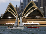 View of the Opera House and Downtown Sydney from the Harbor Photographic Print by Mattias Klum