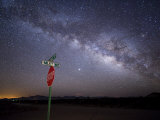 Milky Way Is Undimmed by Outdoor Lights Photographic Print by Jim Richardson
