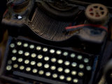 Antique Typewriter in a Shop Photographic Print by David Evans