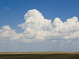 Building Cumulous Clouds That Will Eventually Spawn a Thunderstorm Photographic Print by Mike Theiss