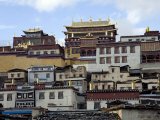 Ganden Sumseling Gompa or Monastery Just North of Shangri-La Photographic Print by Scott Warren