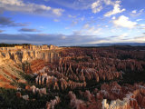 Clouds over Bryce Canyon's Amphitheater Photographic Print by Raul Touzon