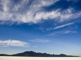 Bonneville Salt Flats, Utah Photographic Print by John Burcham