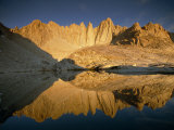 Mount Whitney Reflected in a Nearby Mountain Tarn Photographic Print by Gordon Wiltsie