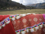 Colorful Traditional Tibetan Clothing for Sale Photographic Print by Scott Warren