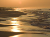 Sunrise over a Gulf of Mexico Beach, in Destin, Florida Photographic Print by Marc Moritsch