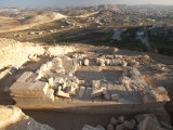 Ruins of Herodium, Herod's Mausoleum Photographic Print by Michael Melford
