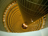 Looking Down into the World's Tallest Atrium at the Jinmao Tower Photographic Print by Scott Warren