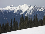 Olympic Mountains in Winter Photographic Print by Taylor S. Kennedy