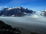 View Overlooking a Glacier Photographic Print by Nick Norman