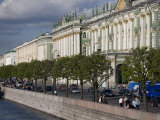 Hermitage Museum Sits on the Banks of the Neva River Photographic Print by Taylor S. Kennedy