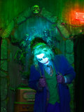 Joker, at 13 Ghosts, America's Spookiest Haunted Attraction Photographic Print by Steve & Donna O'Meara