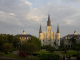 Saint Louis Cathedral in the French Quarter, New Orleans Photographic Print by Tyrone Turner