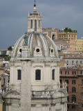 Church Dome of Santissimo Nome Di Maria Al Foro Traiano Photographic Print by Scott Warren