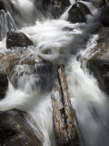 Fast Water Cascading over Jagged Rocks at Calypso Cascades Photographic Print by Scott Warren
