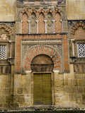 Moorish Architectural Detail of the Mezquita in Cordoba, Spain Photographic Print by Scott Warren