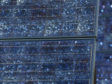 Mosaic Texture of a Solar Panel Used to Generate Electricity Photographic Print by Jason Edwards