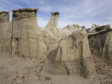 Hoodoo Formation in the Bisti Badlands Wilderness Photographic Print by Scott Warren