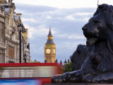 View of Big Ben from Trafalgar Square Photographic Print by  xPacifica