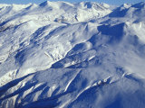 Aerial of Snowy Mountains Photographic Print by Nick Norman