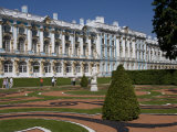Garden in the Catherine Palace Outside St Petersburg Photographic Print by Taylor S. Kennedy