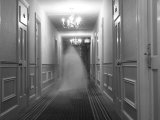 Ghost in the Hall at the Hawthorne Hotel, One of America's Most Haunted Photographic Print by Steve & Donna O'Meara