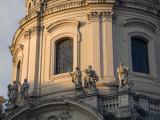 Details on the Church of Santissimo Nome Di Maria Al Foro Traiano Photographic Print by Scott Warren