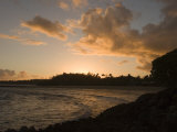 Sunrise at Turtle Bay on the North Shore of Oahu Island Photographic Print by Charles Kogod