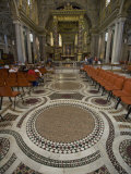 Interior of the Basilica Di Santa Maria Maggiore Photographic Print by Scott Warren