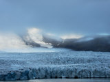 View of the Vast Ice Field at Vatnajokull Photographic Print by Mattias Klum