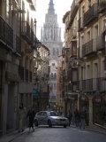 Narrow Street in the Medieval City of Toledo Photographic Print by Scott Warren